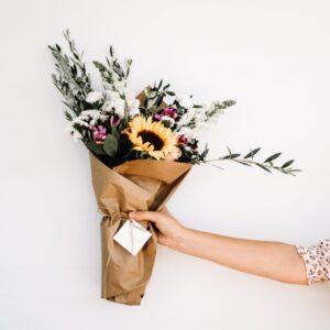 Arranjo floral dez