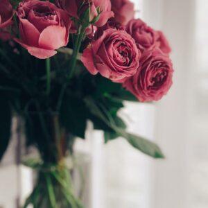 Arranjo floral seis